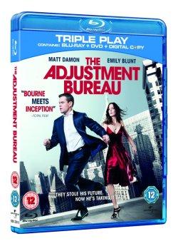 The Adjustment Bureau - Blu-ray Triple Play