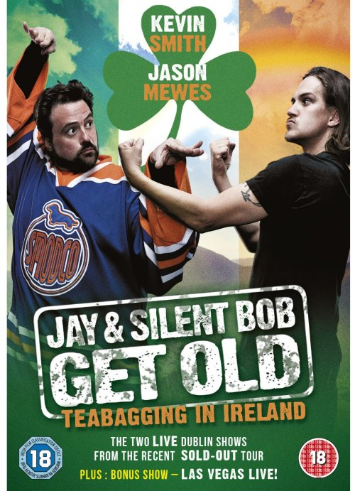 Jay & Silent Bob Get Old: Teabagging in Ireland DVD cover
